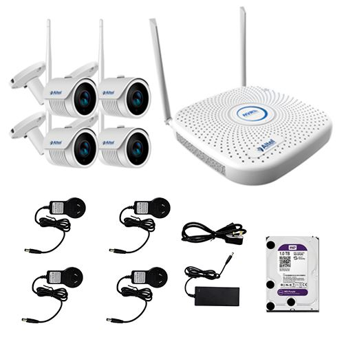Altel KIT NVR 4 CANALES HD 720P WIFI