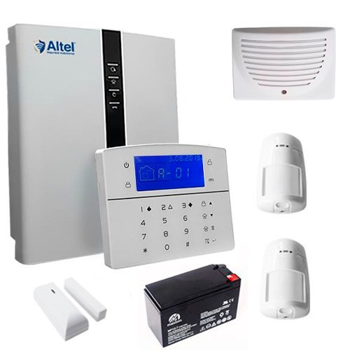 Altel Alarmas KIT CENTRAL INALÁMBRICA SMART AFC-7640P